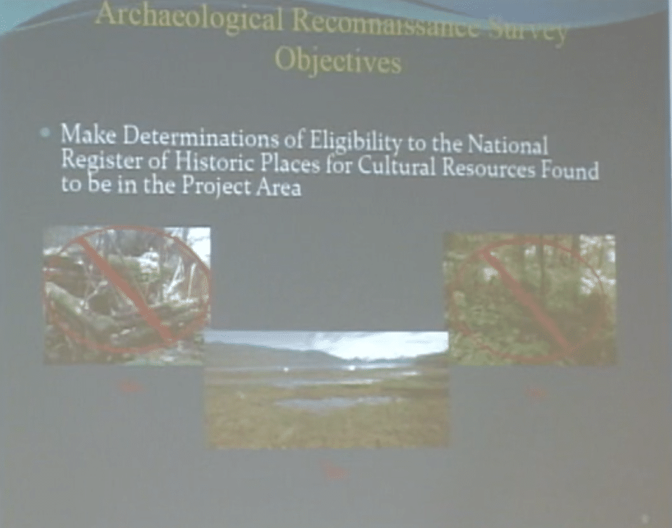 Sweetheart Lake Hydroelectric project, Cultural Studies – February 1, 2013