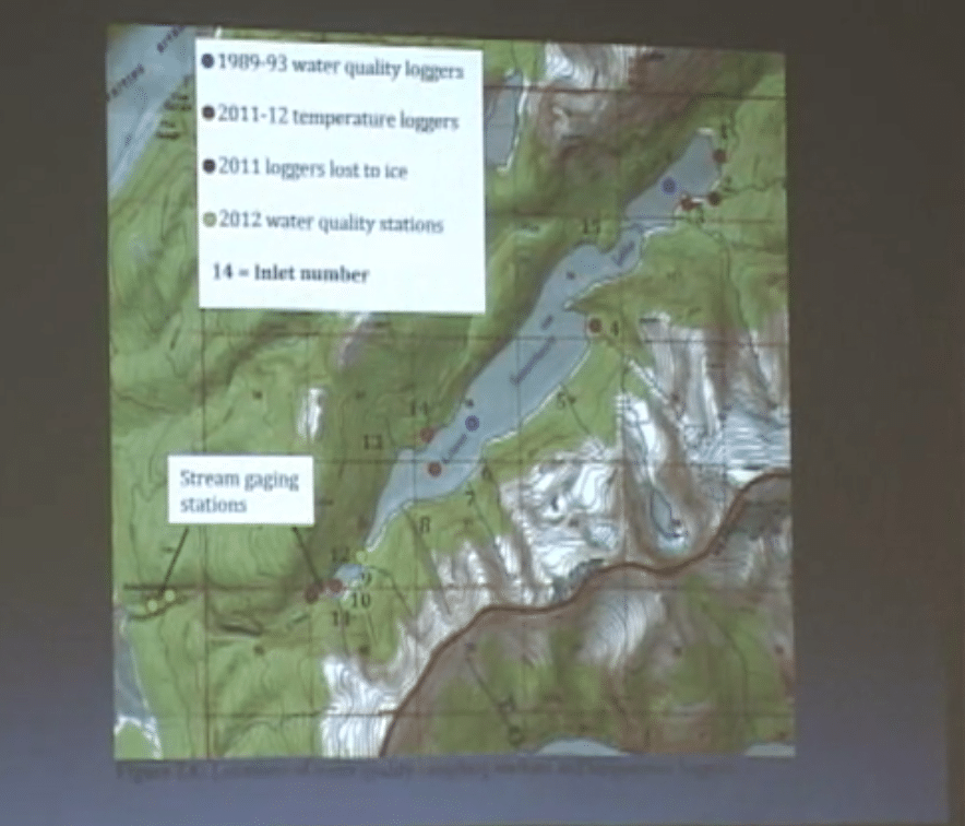 Sweetheart Lake Hydroelectric project, Water Quality – January 1, 2013